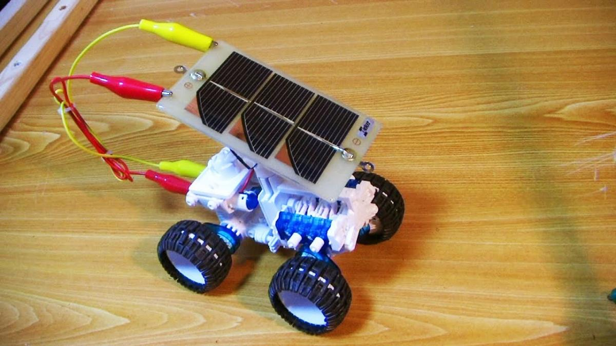 Solar powered science toys